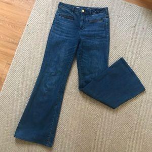 Pilcro High Rise Flare Jeans sz 27